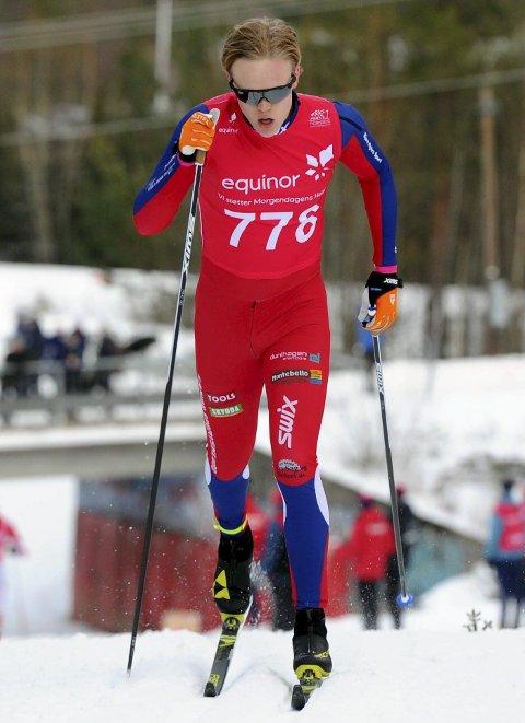 SATSER: Hans Bernhard Burud har flyttet til Lillehammer og spisset langrennsatsingen. Han håper å kjempe om norgescuppoeng i vinter. Foto: Svein Halvor Moe