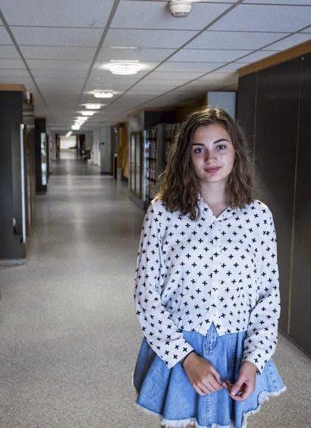 Må opplyses: Live Tronstad mener det er viktig at elever kjenners ine rettigheter.
