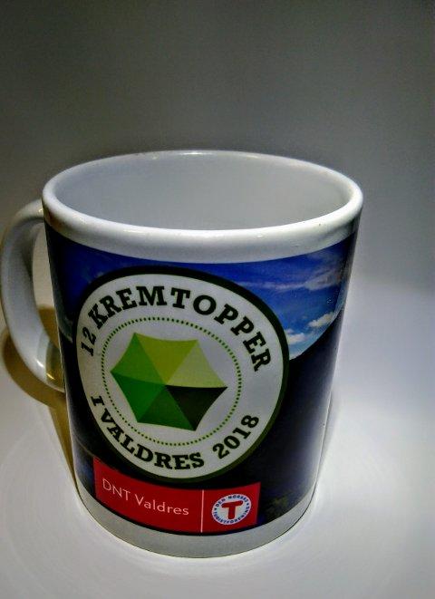 Kremtopp-koppen er klar til avhenting for dem som har gjort seg fortjent til den.