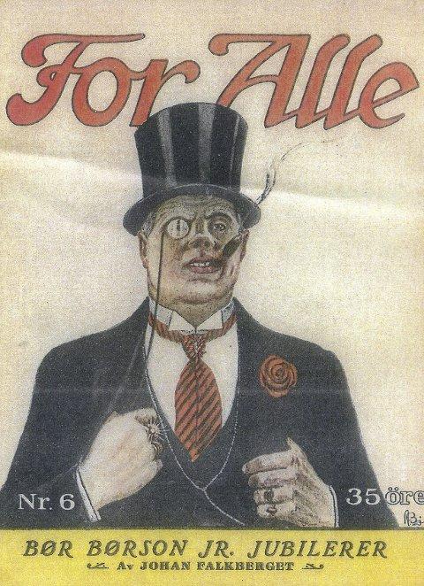 Jubiluem: Forsiden på bladet «For Alle» i 1931