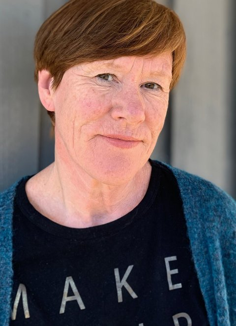 SKEPTISK: Ellen Jåvold er skulesjef i Kinn kommune. Ho har ikkje nemneverdig lyst til å ha ein privatskule i Florø sentrum som supplement til den offentlege skulen.