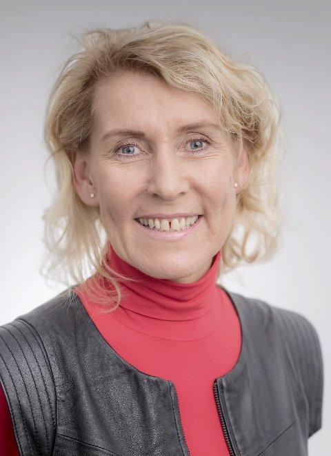 På flyttefot: Hulda Gunnlaugsdóttir er på flyttefot til Helgeland.