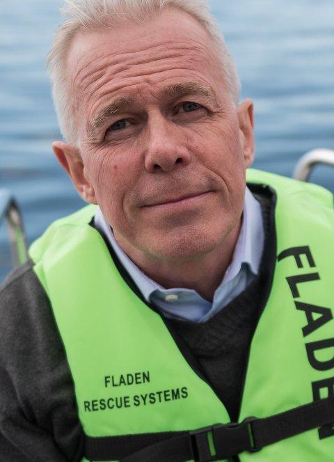 Arne Voll, kommunikasjonssjef i Gjensidige.