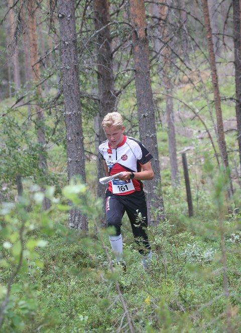 HØYERE NIVÅ: Jørgen Schjølberg fra Tynset springer fortere og orienterer bedre enn noen gang.