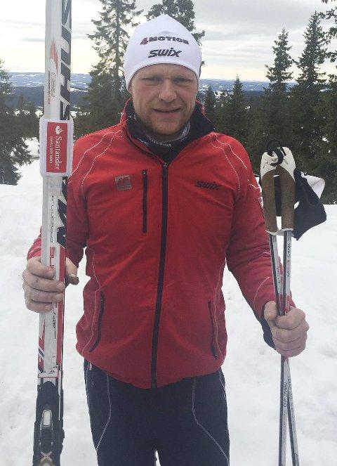 TO RENN: Sindre Weydahl (34) fra Båstad gikk både Fredagsbirken og Birkebeinerrennet. – Kroppen er vond nå, selv om det var en god opplevelse begge dager, smiler Weydahl.