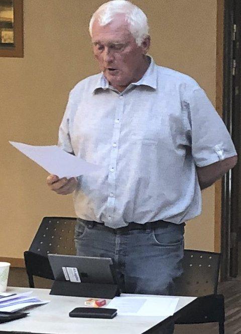 Steinar Thorsen i Xtra-lista så ingen grunn til å se bort i fra kommuneoverlegens anbefaling i denne saken, når kommunen har fulgt alle de andre anbefalingen han har gitt det siste året.  Arkivfoto