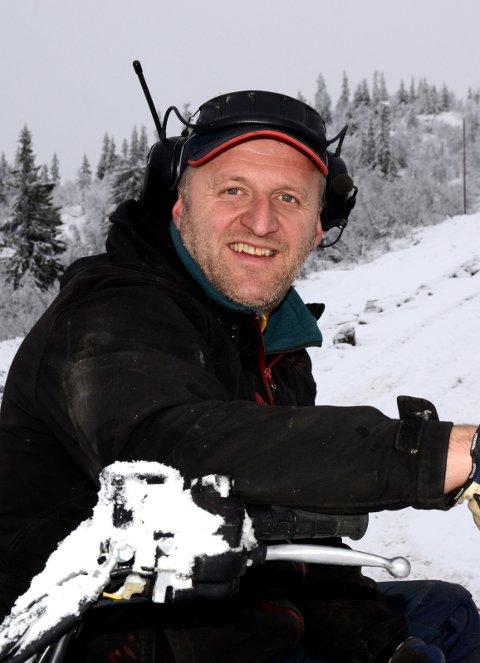 TROR PÅ REKORDTIDLIG ÅPNING: Daglig leder i Valdres Alpinsenter Harald Kulhuset.