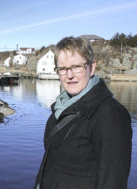 Leder: Gunn Lovise Gautesen, leder i Røvær Utviklingsnemnd.