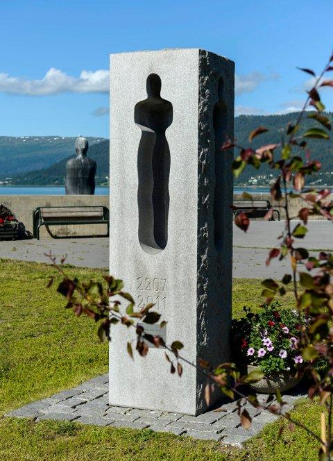 22.juli og minnesmerket etter Utøya ved Havmannen og Havmannplassen.