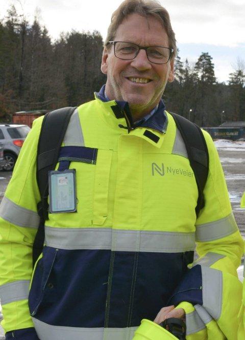 Magne Ramlo, prosjektdirektør i Nye veier.