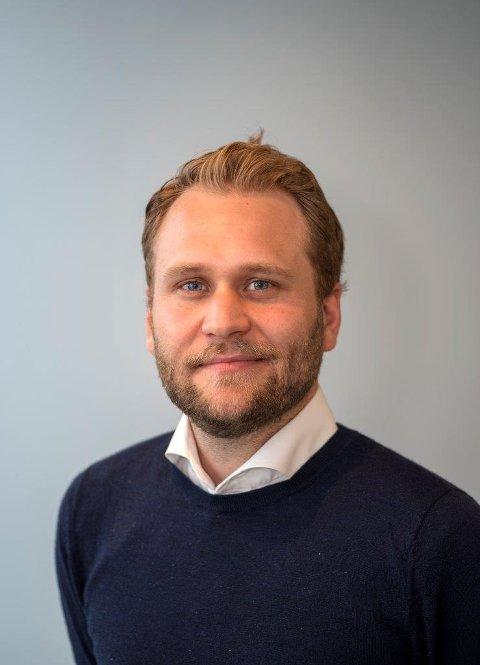 PREFERANSER: Markedsanalytiker i Prognosesenteret, Andreas Brand, forteller at pandemien har påvirket hvordan unge i aldersgruppen 25–34 ønsker å bo.