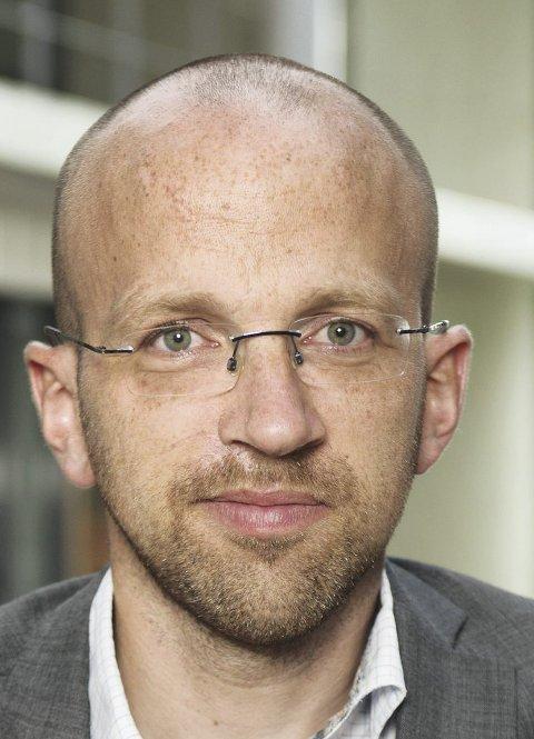 Vil unngå konflikt: Kristian Løksa i Avinor. FOTO: AVINOR