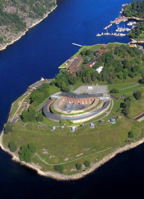 Stafett: Til helgen blir det stafett på Oscarsborg. Foto: Henning A. Jønholdt