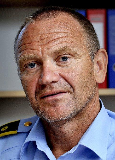 SIKRING: Krimsjef Kai Andersen ber folk bli flinkere til å sikre sine verdier.FOTO: JARL M. ANDERSEN