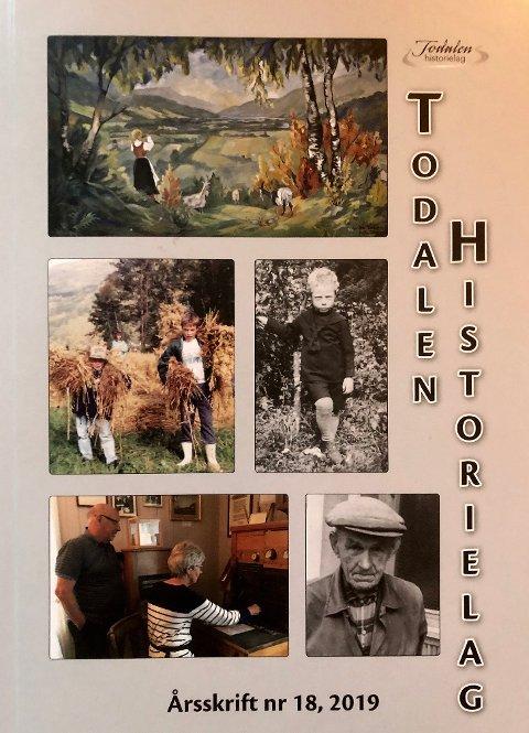 NR.18: Årsskrift nummer 18 utgitt av Todalen historielag er i handelen.