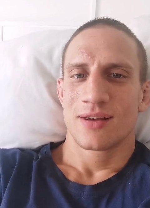 OPPDATERER FØLGERNE SINE: Geir Kåre Cemsoylu Nyland har begynt å dele åpent om hverdagen på sykehuset.