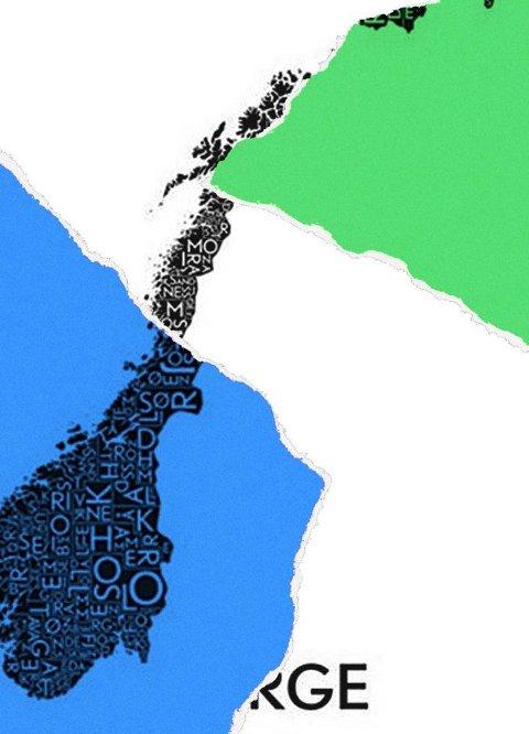 Et splittet politisk Norge, hvem vinner på det, spør innsenderen.