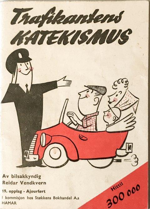 POPULÆR: «Trafikantens Katekismus» i et opplag på 300.000.