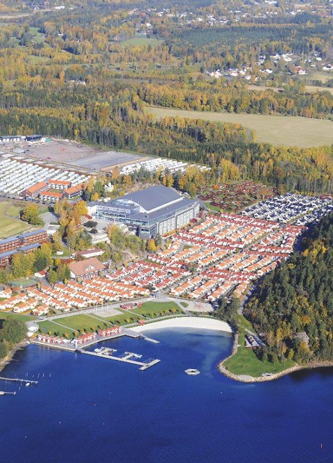 TUSEN: De aller fleste oppfører seg eksemplarisk, opplyser ledelsen ved Oslofjord Convention Center, som huser nærmere tusen asylsøkere.
