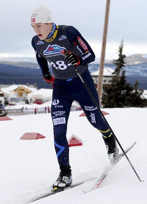 DEBUTERER: Herman Mobråthen debuterer i helga i juniorenes norgescup i langrenn.