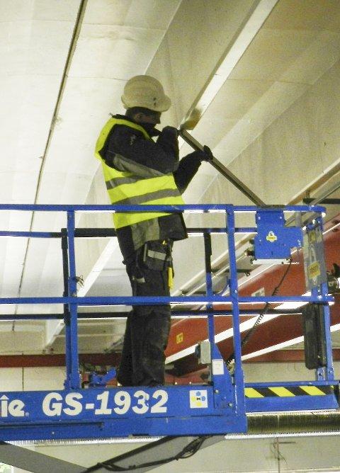 BYGG OG ANLEGG: Ledigheten synker mest i bygg- og anleggsbransjen. Illustrasjonsfoto: Steinar Omar Østli