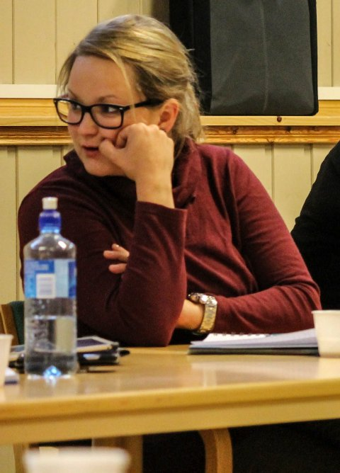 Ida Catrin Olsen (28) er en av to kandidater til å bli varaordfører i Grane til høsten.