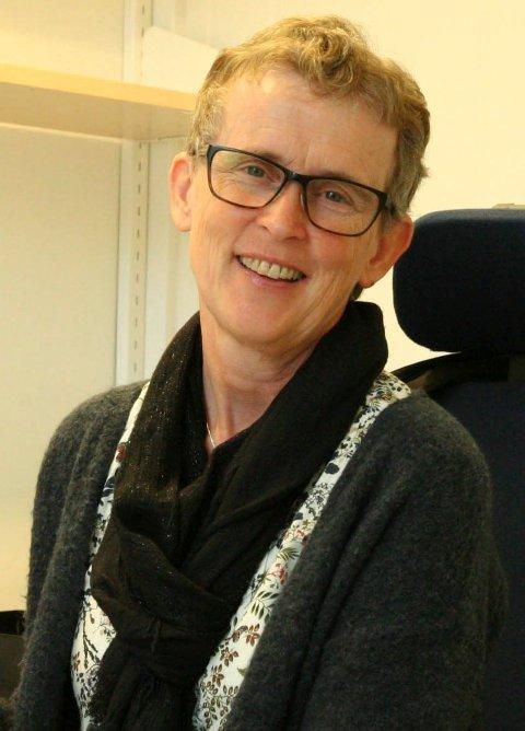 Kristin Andersen på Helsekontoret for migrasjon, smittevern og vaksiner.