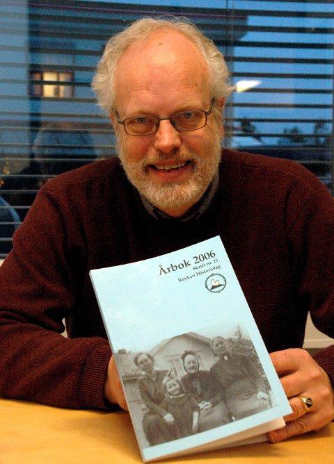JA: Per Olav Berg i Røyken historielag.