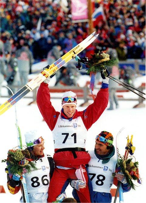 KOMMER: Bjørn Dæhlie, en av flere norske OL-vinnere fra 1994 som er tilbake i Lillehammer lørdag.