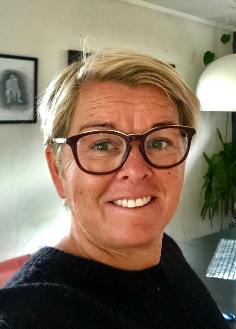 GLEDER SEG: Elin Rugland Falkum gleder seg til å begynne i ny jobb i Lyngdal Kommune.