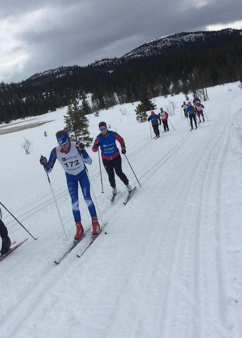 Bjørn Eide Pedersen under fjorårets  Ridderrenn.  Årets renn er avlyst.