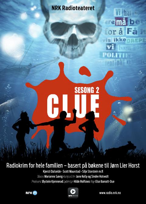 NY SESONG: 2. sesong av Jørn Lier Horsts Clue-serie starter lørdag 30. juni.