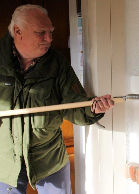 VILTNEMNDA: Jan Kristiansen sier at ulovlig jakt på svaner vil bli slått hardt ned på.