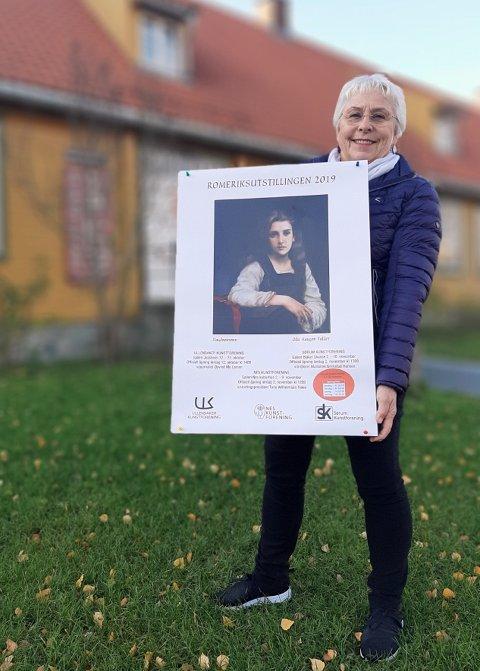 Leder May R. Ekseth i Sørum kunstforening ønsker stolt velkommen til Romeriksutstillingen 2019 i Galleri Blaker Skanse.