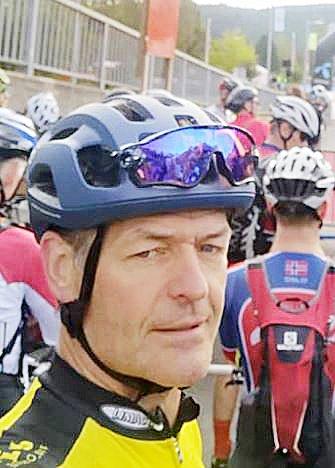 Meget sterk tid: Kåre Enerhaugen syklet inn under tre timer, og ble nummer 12 i sin klasse M50.