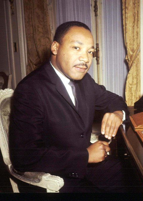 NOBEL-STØTTE: Martin Luther King er blant en rekke nobelprisvinnere gjennom tidene som støtter ideen om borgerlønn.