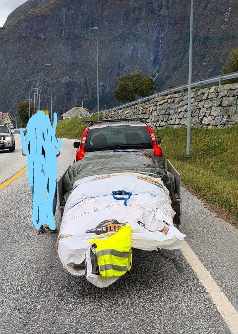 FÅR BOT: Ifølge Statens vegvesen hadde mange av sjåførane, som blei hanka inn på kontroll torsdag ettermiddag, alt på stell. Men ikkje alle.