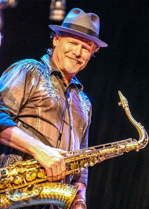 Saksofon: Jimmy Carpenter er både musiker og manager. Han kommer til Båthuset i oktober.