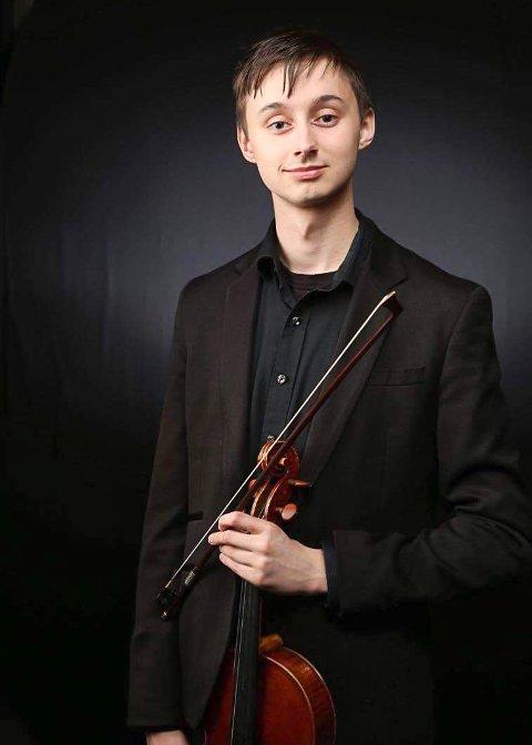 Michael Grolid, bratsjist og komponist fra Ås.