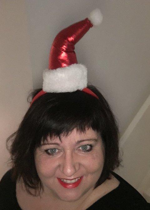 Siv-Len Strandskog tror hun kan få en av de fineste julefeiringen dette året, når hun er med på feiringen på Stangelandsenteret hos Kirkens Bymisjon.