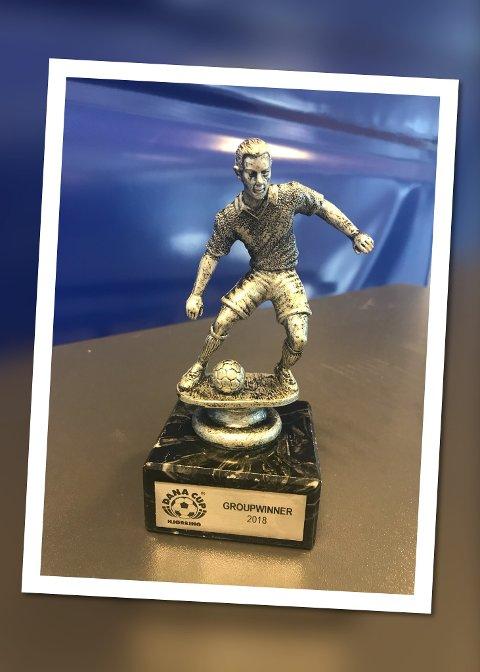 BEVISET: HSVs ene lag ble gruppevinner i Dana Cup