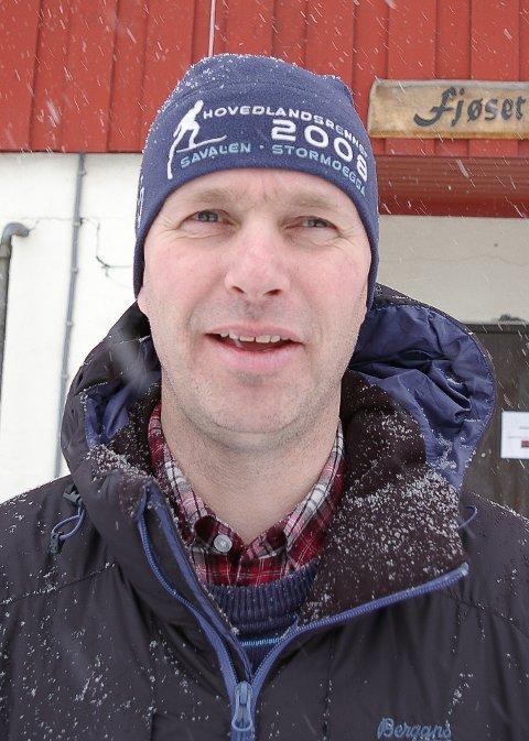 REKTOR: Eivind Aaen fra Tynset er rektor på Storsteigen videregående skole i Alvdal.