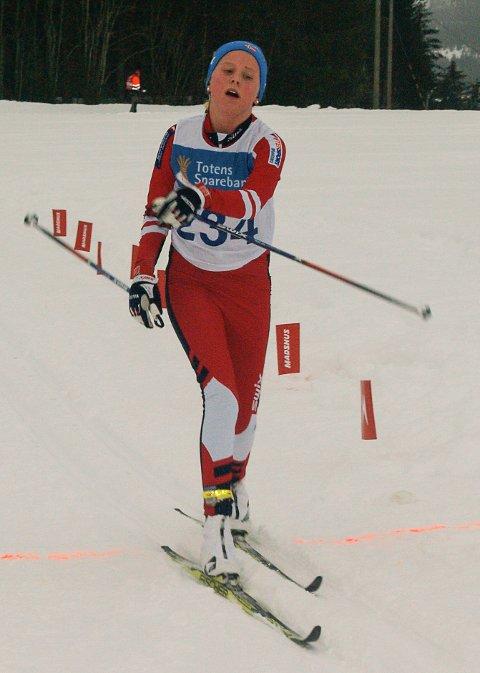 KLASSEVINNER: Mali Jåvoll Hagen fra Brandbu IF ble vinner av klassen for jenter 13 år.