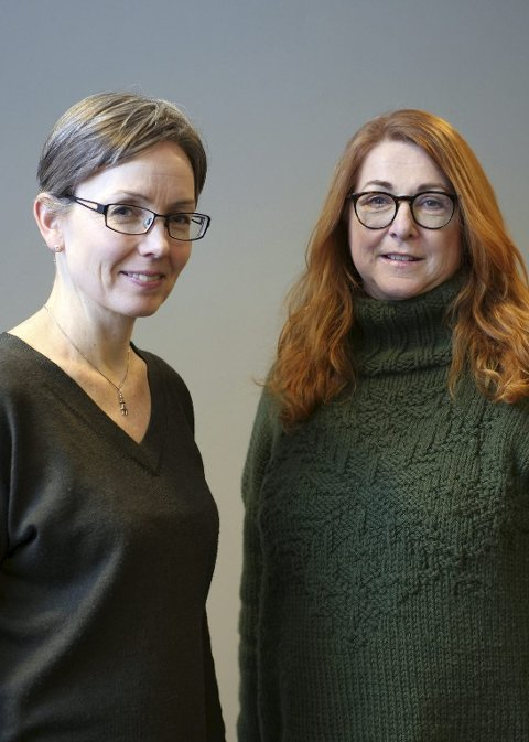 Universell utforming: Marit H Meyer og Elisabeth Holter-Schøyen.foto: Johan Malvik