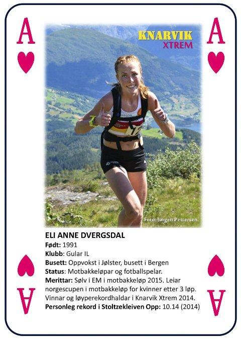 Løpar-ess Knarvik Xtrem Eli Anne Dvergsdal.