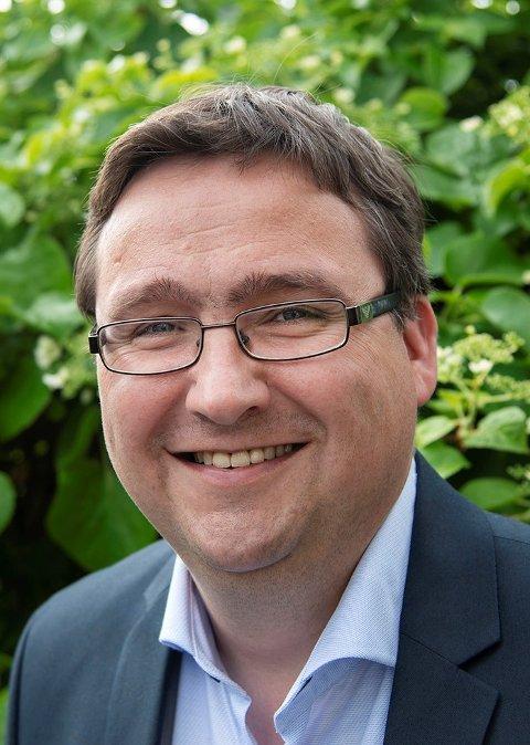 ØNSKER FORTGANG:  Karl M. Buchholdt politisk nestleder i Levanger Venstre.