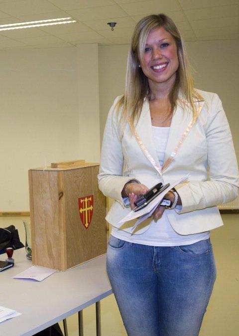 SELVSAGT: Elin Gulliksen mener det er viktig å delta også i Kirkevalget.