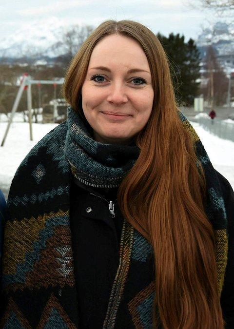 Lederen for frivillighetssentralen i Hamarøy Jannita Olvik, er veldig glad for at ordningen gjentas. Foto: Øyvind A. Olsen
