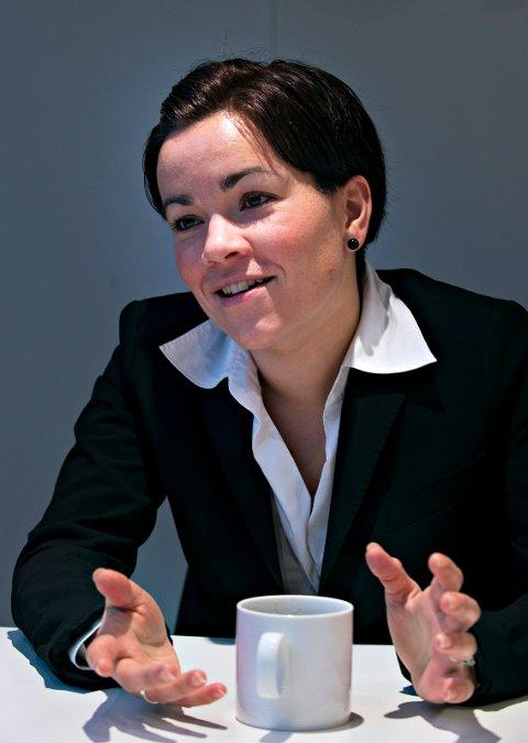 Gunn Cecilie Ringdal er ordfører i Lier kommune.