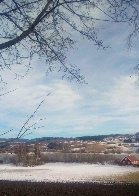 VÅR: Røykenvika, mars 2021.